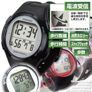万歩計搭載電波ウォッチ(メンズ/レディース/男女兼用/腕時計/時刻合わせ不要/正確/歩行計測)|premium-pony