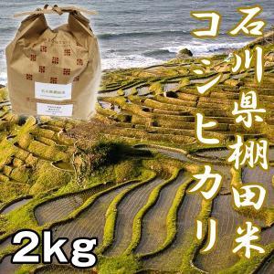 石川棚田米コシヒカリ2kg (お米,,こしひかり,新米,お取り寄せブランド米,石川県能登半島,世界農業遺産認定米,受注後精米) premium-pony