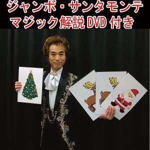 ジャンボ・サンタモンテ/マジック解説DVD付き(プロマジシャン直伝/手品/クリスマス/サンタはどこ?/パーティー/宴会)|premium-pony