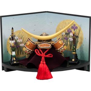 五月人形伊達公兜大赤扇台飾り和紙屏風 (卓上五月人形,ミニ五月人形,端午の節句,卓上サイズ,鎧兜,男の子の節句,初節句,5月5日)|premium-pony