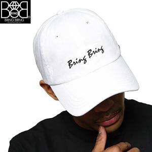 ブリンブリンボールキャップ「白」(BRING BRING,ベースボールキャップ,男女兼用,帽子,CAP,B系,ヒップホップ,ストリート系,ダンサー系)|premium-pony