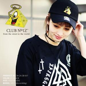 クラブノイズボールキャップ「ピラミッドボーイ」(CLUBNO1Z,ベースボールキャップ,男女兼用,帽子,B系,ヒップホップ,ストリート系,ダンサー系)|premium-pony