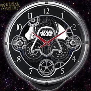 (送料無料)STAR WARS ダースベイダーKARAKURI電波ウォールクロック(スターウォーズ/からくり/壁かけ/掛け時計/メロディ/LEDライト/ギミックパフォーマンス)|premium-pony
