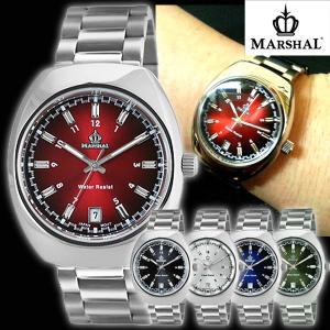 マーシャル腕時計MRZ015(メンズウォッチ、MARSHAL,5気圧防水,ビジネス,日付表示付き)|premium-pony