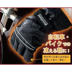 発熱防水グローブ〈エクス〉 premium-pony