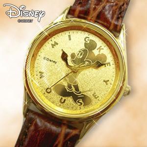 世界限定K24加工ミッキーマウス・クラシック(腕時計,ウォッチ,ディズニー,Disney,本革,メンズ,レディース,日本製クォーツ)|premium-pony