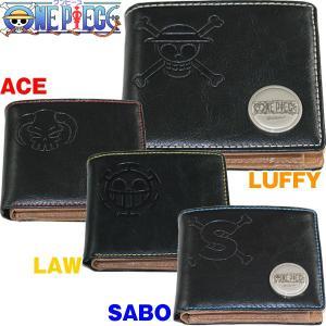 ワンピースグロリアスレザー2つ折りウォレットII(ワンピースオフィシャルグッズ,メンズ,2つ折り財布,本革財布,海賊旗型押し)|premium-pony