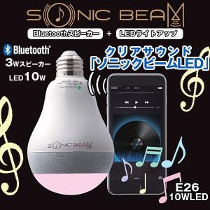 クリアサウンド「ソニックビームLED」(ライト,照明,Bluetooth,3Wスピーカー,ワイヤレス,iPhone,Android,スマホ対応,アプリ)|premium-pony