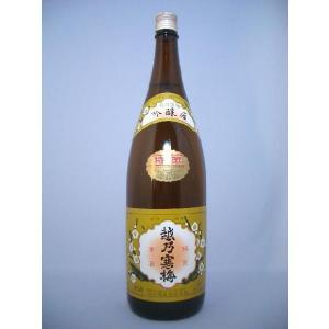 越乃寒梅 特撰 吟醸酒 1800ml 石本酒造|premium-sake