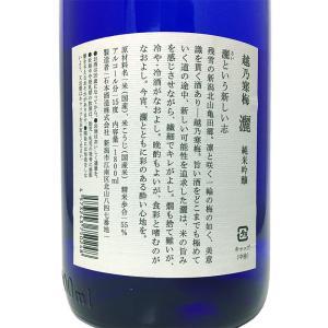 越乃寒梅 純米吟醸 灑 さい 1800ml 石本酒造|premium-sake|03