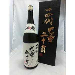 十四代 七垂二十貫 純米大吟醸 1800ml 高木酒造 化粧箱入り|premium-sake