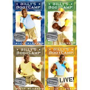 ビリーズブートキャンプ DVD4枚組 英語版 (基本・応用・腹筋・最終プログラム)エクササイズダイエット DVD