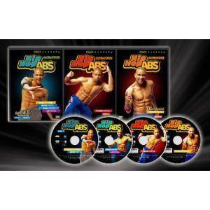 ヒップホップアブス DVD4枚セット 日本語字幕版 Hip Hop ABS エクササイズDVD
