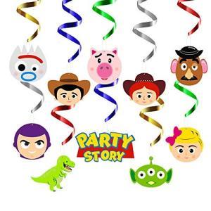 MALLMALL6 30個 おもちゃ 第4パーティー 渦巻き 装飾 吊り下げ ストリーマー おもちゃ...