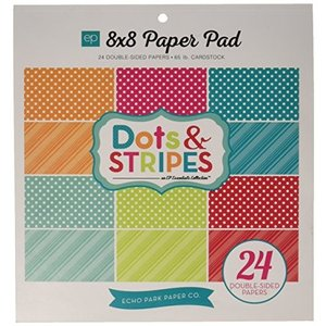 Echo Park Paper Company Dots and Stripes Brights P...