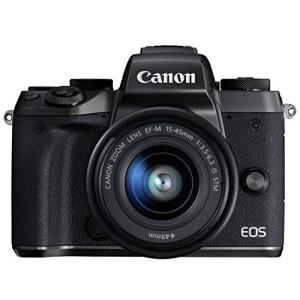 Canon ミラーレス一眼カメラ EOS M5 レンズキット EF-M15-45mm F3.5-6....