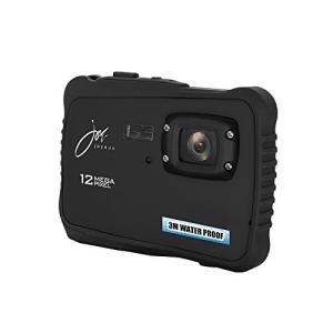 ジョワイユ 12MEGA PIXEL 防水 デジタルカメラ ブラック