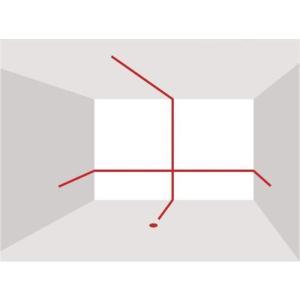 Panasonic(パナソニック) レーザーマーカー 墨出し名人 ケータイ 壁十文字タイプ 回転台 ...