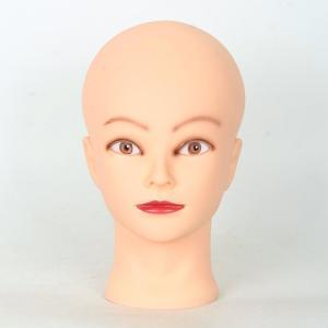 美容師さん、メイクさんの練習メイク用ヘッドマネキンです。  【仕様】 材質:プラスチック 色:坊主頭...