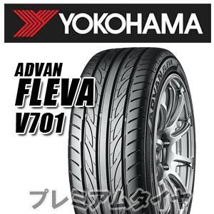 ヨコハマ アドバン フレバ V701 ADVAN FLEVA V701 255/35R19 96W XL 2018年製 日本製 premiumtyre