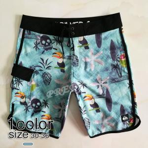サーフパンツ メンズ ビーチパンツ ファッション ショートパンツ BBQで活躍 男性 水着 速乾 海...