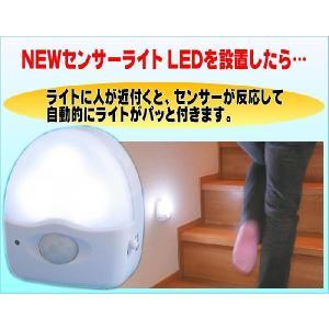 とっても経済的人センサー内蔵高輝度LEDライト presentwalker