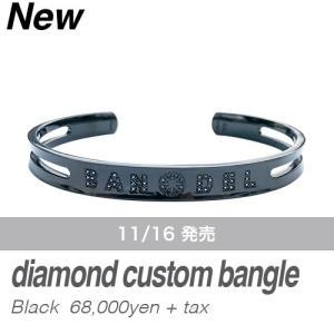 BANDEL バンデル ダイヤモンドカスタム バンデル ブレスレット ダイヤ入り diamond custom necklace ブラック 全国送料無料 prestige-webstore