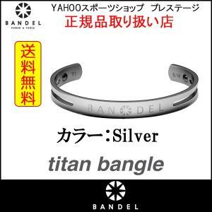 BANDEL バンデル チタン ブレスレット バングル titan bangle シルバー 全国送料無料|prestige-webstore