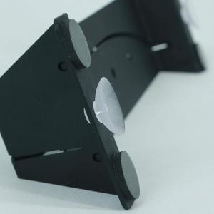 後付式固定用吸着パッド 飛沫感染防止用プレシールド・タイプRを固定できます。2個セット入り。|prestore