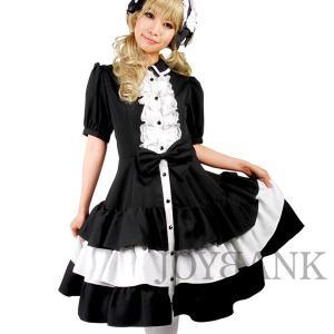 BERUNIKA/ワンピース ゴスロリ モノトーンピアニッシモ 黒白 ロリィタ ロリータ|prettygirl