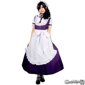 BERUNIKA/シルフィードロングメイド服 半袖 コスプレ 衣装 仮装 カラー3色|prettygirl