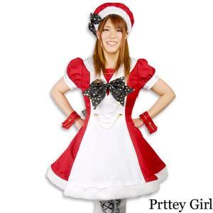 8mm/ホーリーガールレッドワンピース クリスマス コスプレ 衣装|prettygirl