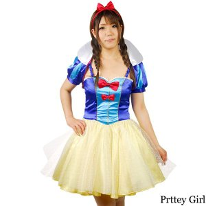 8mm/白雪姫 スノーホワイト コスプレ ハロウィン 衣装 仮装 prettygirl