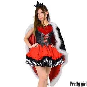 8mm/ハートの女王 クイーンオブハート コスプレ パーティ 不思議の国のアリス prettygirl