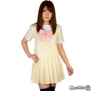 セーラー服 半袖 パステルカラー コスプレ 衣装 カラー6色 prettygirl