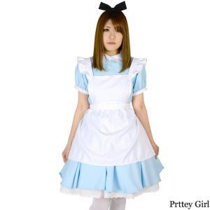不思議の国のアリス コスプレ コスチュームセット 大きいサイズ 衣装|prettygirl