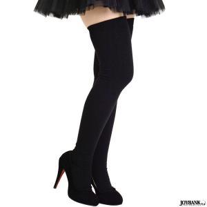 ハイソックス 大きいサイズ ブラック サイハイソックス  靴下 コスプレ  男女兼用 女性用 男性用 ニーハイ サイハイ ゆうパケット1点まで[M便 1/1] prettygirl