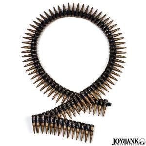 弾丸ベルト バレットベルト 武器 サバゲー ベルトリンク おもちゃ コスプレ 仮装|prettygirl