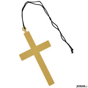 ネックレス 大きな十字架  /クロス  教会 牧師 神父 シスター コスプレ|prettygirl