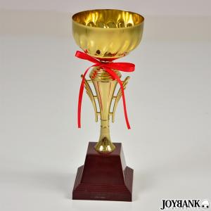 栄光のトロフィー リボン付き ゴールド / スポーツ 道具 おもちゃ コスプレ 仮装|prettygirl