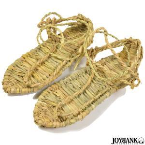 草鞋 わらじ 靴 ぞうり 藁草履 和風 コスプレ 撮影 小物 時代劇 藁 編込み 和物 和風 着物|prettygirl