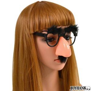 太眉に付け髭・付け鼻のおもしろめがねです♪  お楽しみ会、発表会にいかがですか♪ ハロウィン、誕生日...