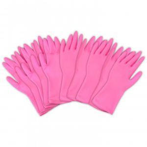 左右兼用薄型家庭用ゴム手袋(10枚入)|prettyw