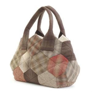 オリムパス 大畑美佳デザイン パッチワークバッグ つなぐだけでカンタン ハニカムのバッグ|prettyw