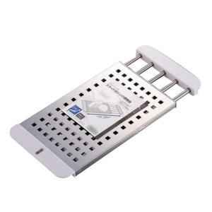 パール金属 H-5650 デュアリス 18-8ステンレス製スライド式シンク調理台|prettyw