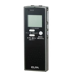 ELPA(エルパ) ICレコーダー4GB ADK-ICR500 1775300|prettyw