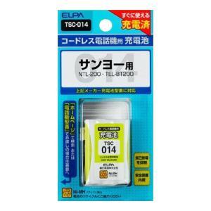 ELPA(エルパ) 電話機用充電池 TSC-014 1834100|prettyw