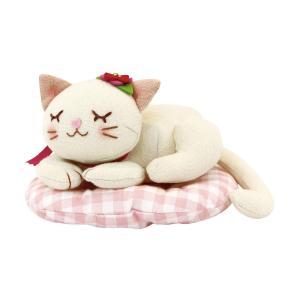 ※発送目安:7〜10営業日 スヤスヤと眠るかわいいネコのぬいぐるみキットです。お好きな場所に置いて、...