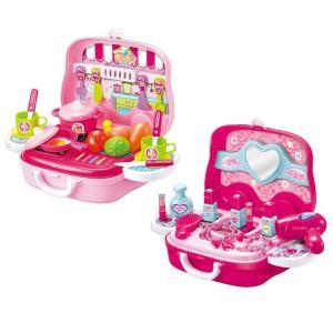 子供用玩具 なりきりごっこあそびセット(B) ラブリーメイクセット|prettyw