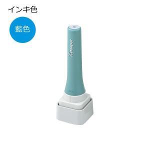Shachihata シヤチハタ 等級表示印 特角30号 藍色 XTS-3030 秀|prettyw